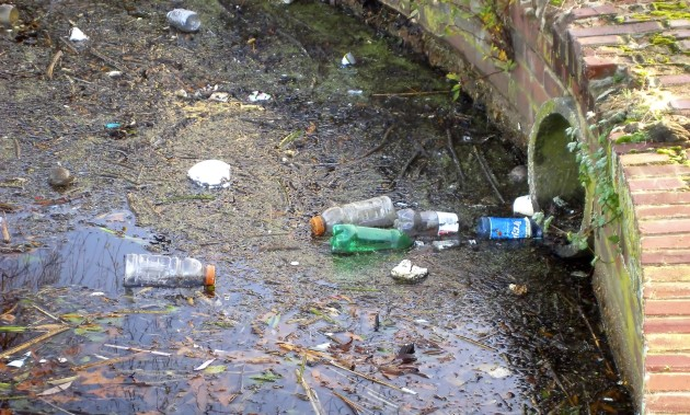 Falta de tratamento de esgoto é uma das principais causas de contaminação da água.