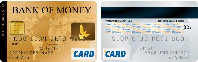 Cartão de credito nacional e internacional
