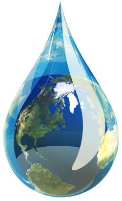 Importância da água nos seus estados de sólido, líquido e gasoso para pessoas, animais e meio ambiente