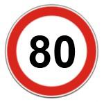 Limite de velocidade em vias de acesso rápido