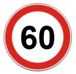Limite de velocidade em vias arteriais