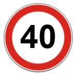 Limite de velocidade em vias coletoras