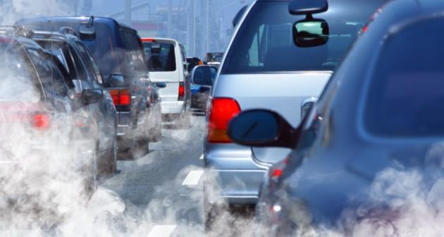 Os automóveis são grandes fontes poluidoras