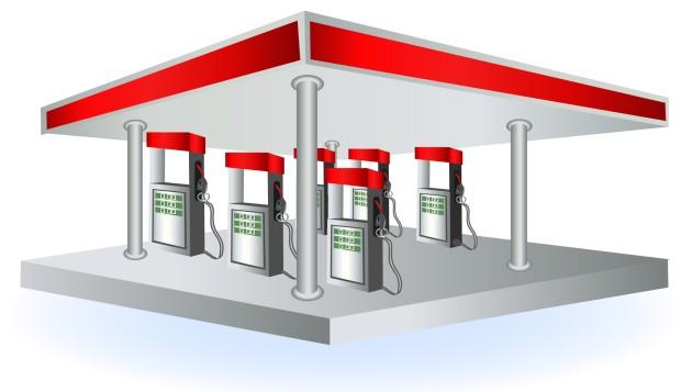 Posto de combustível. Gasolina, Etanol e Diesel, os principais combustíveis nos postos
