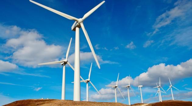 Usina eólica uma das fontes de energia renovável por usar o vento