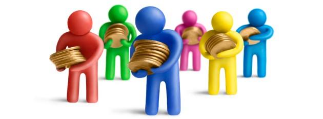 Fundos Renda fixa, renda variável, Multimercado. Ações, câmbio, imóveis, ouro, títulos do governo, entre outros.