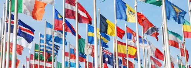 bandeiras dos estados constituidos ou nações do mundo