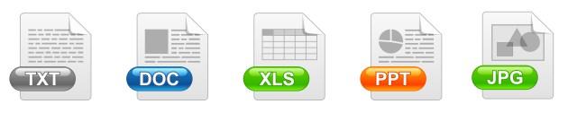 Tipos de arquivos mais comuns no windows