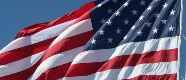 bandeira dos Eatados Unidos da América