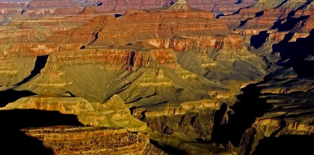 montanhas corroidas pela Erosão