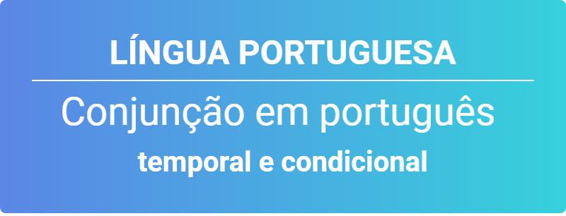 Conjunção em português