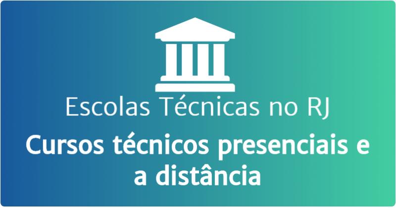 Escolas técnicas no RJ