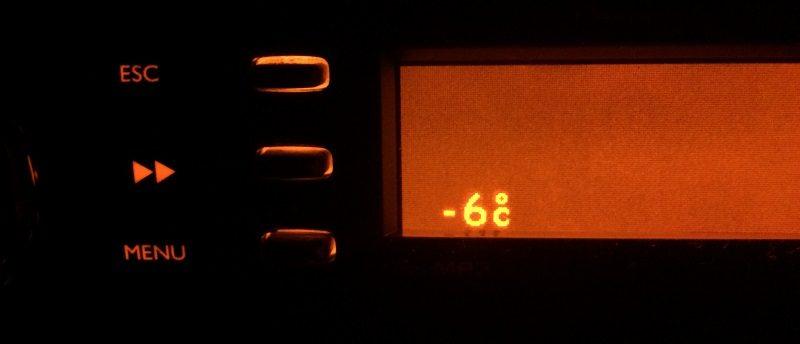 Frio em São Joaquim