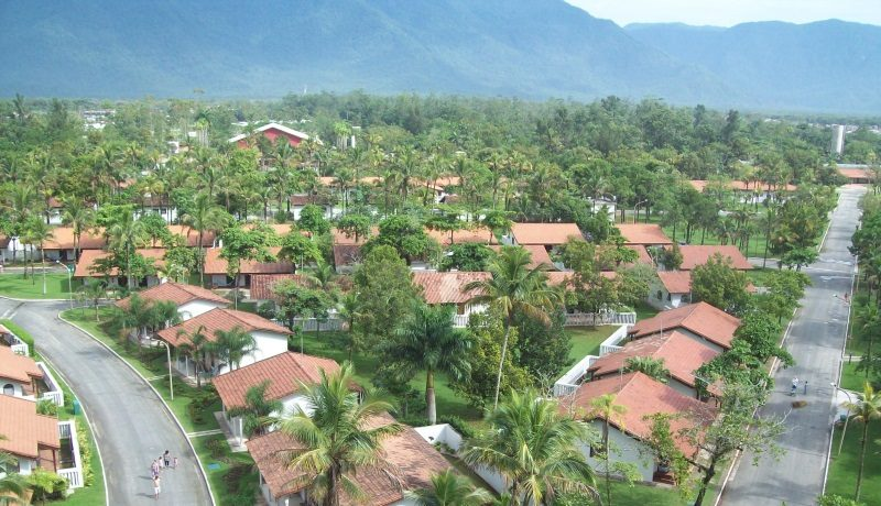 Casas para hospedagem SESC Bertioga