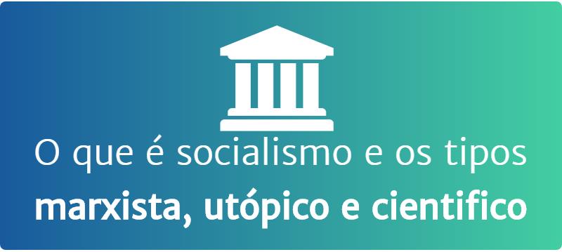 Tipos de socialismo