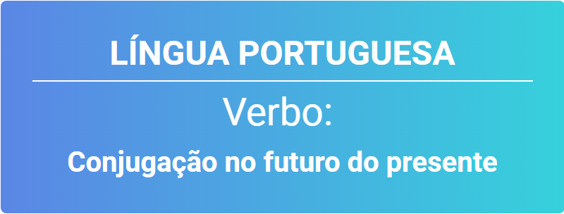 verbo no futuro do presente